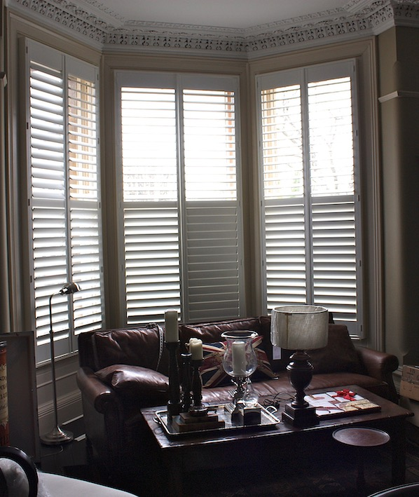 LArge 3 Piece Bay With Shutters