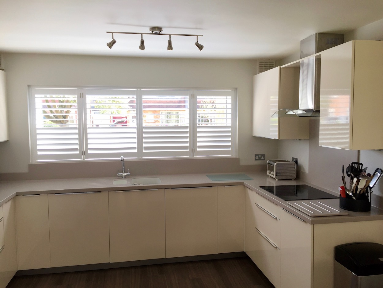 Shutters in Kitches