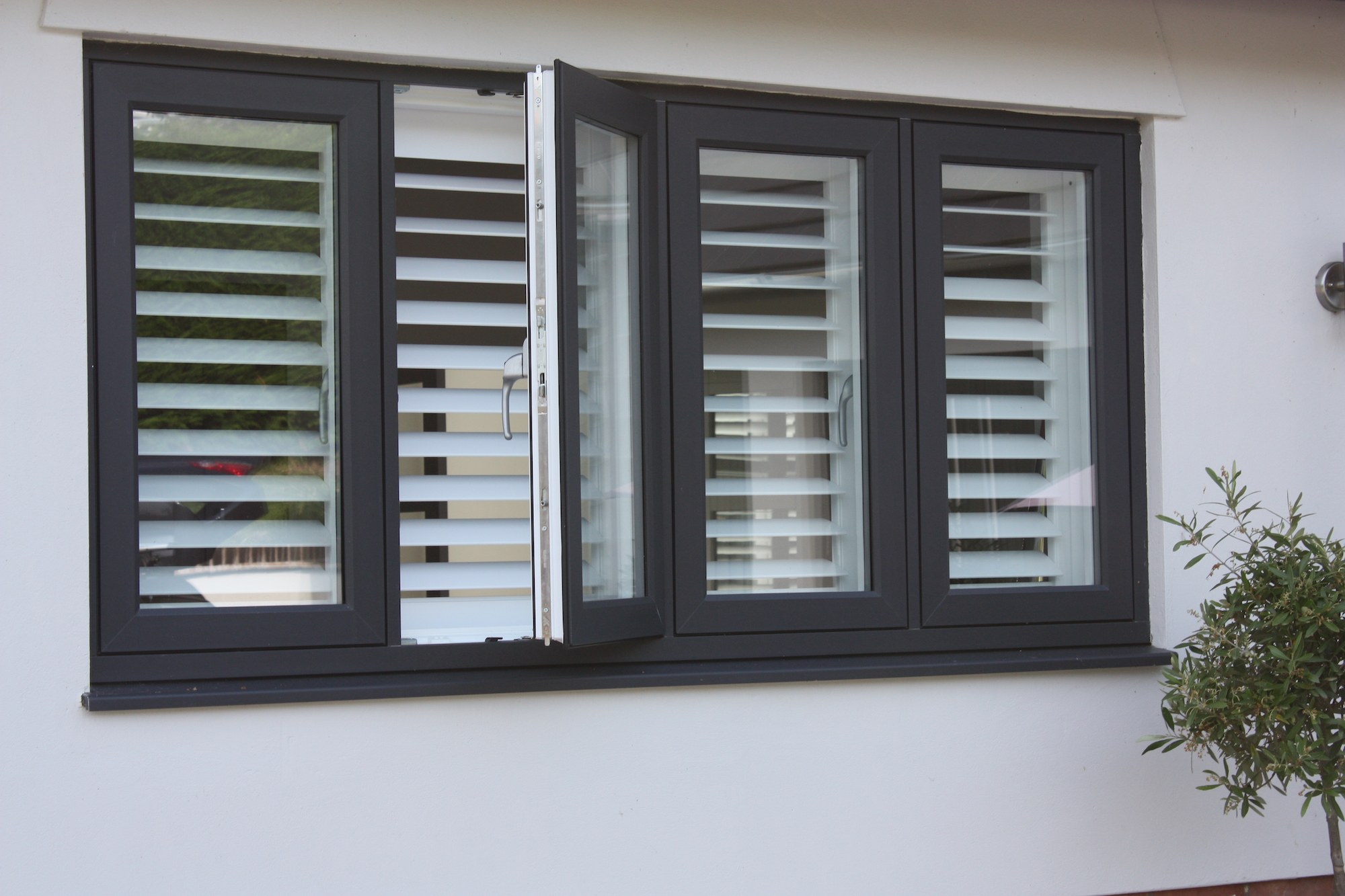Shutters From Outside